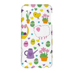 Cute Easter Pattern Apple Ipod Touch 5 Hardshell Case by Valentinaart