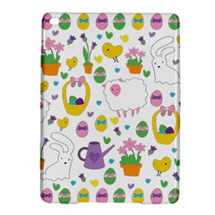 Cute Easter Pattern Ipad Air 2 Hardshell Cases by Valentinaart