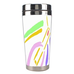 Motorcycle Racing The Slip Motorcycle Stainless Steel Travel Tumblers by Nexatart