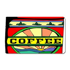Coffee Tin A Classic Illustration Magnet (rectangular) by Nexatart