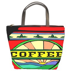 Coffee Tin A Classic Illustration Bucket Bags by Nexatart