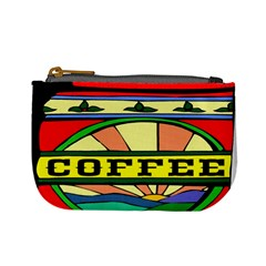 Coffee Tin A Classic Illustration Mini Coin Purses by Nexatart