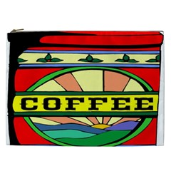 Coffee Tin A Classic Illustration Cosmetic Bag (xxl)  by Nexatart