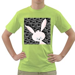 Easter Bunny  Green T Shirt