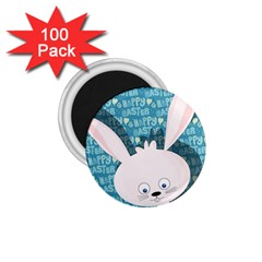 Easter Bunny  1 75  Magnets (100 Pack)  by Valentinaart
