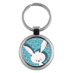 Easter Bunny  Key Chains (round)  by Valentinaart