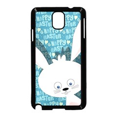 Easter Bunny  Samsung Galaxy Note 3 Neo Hardshell Case (black) by Valentinaart