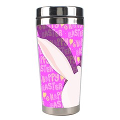 Easter Bunny  Stainless Steel Travel Tumblers by Valentinaart
