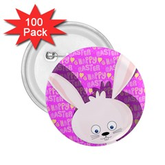 Easter Bunny  2 25  Buttons (100 Pack)  by Valentinaart