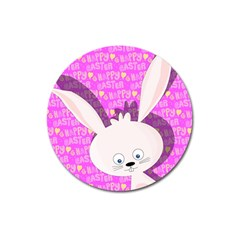 Easter Bunny  Magnet 3  (round) by Valentinaart
