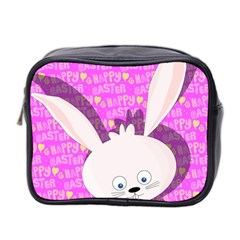 Easter Bunny  Mini Toiletries Bag 2 Side by Valentinaart