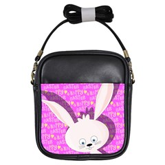 Easter Bunny  Girls Sling Bags by Valentinaart