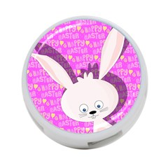 Easter Bunny  4 Port Usb Hub (one Side)