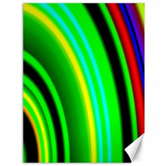 Multi Colorful Radiant Background Canvas 36  X 48   by Nexatart