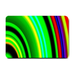 Multi Colorful Radiant Background Small Doormat  by Nexatart