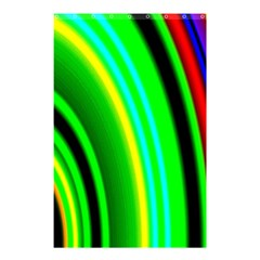 Multi Colorful Radiant Background Shower Curtain 48  X 72  (small)