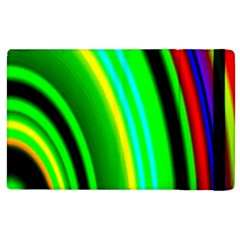 Multi Colorful Radiant Background Apple Ipad 3/4 Flip Case