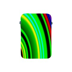 Multi Colorful Radiant Background Apple Ipad Mini Protective Soft Cases by Nexatart