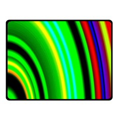 Multi Colorful Radiant Background Double Sided Fleece Blanket (small)  by Nexatart