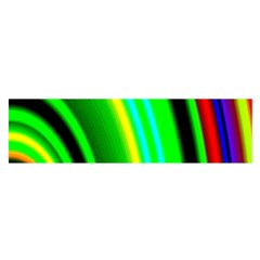 Multi Colorful Radiant Background Satin Scarf (oblong) by Nexatart