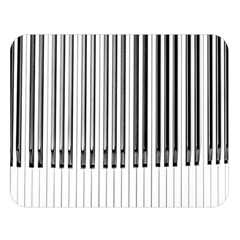Abstract Piano Keys Background Double Sided Flano Blanket (large)  by Nexatart