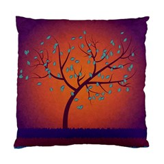 Beautiful Tree Background Standard Cushion Case (one Side) by Nexatart