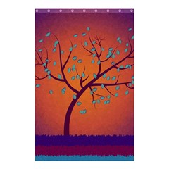 Beautiful Tree Background Shower Curtain 48  X 72  (small)  by Nexatart