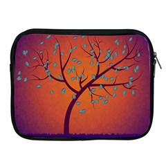 Beautiful Tree Background Apple Ipad 2/3/4 Zipper Cases by Nexatart