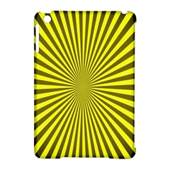 Sunburst Pattern Radial Background Apple Ipad Mini Hardshell Case (compatible With Smart Cover)