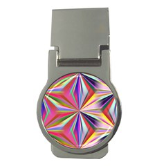 Star A Completely Seamless Tile Able Design Money Clips (round)