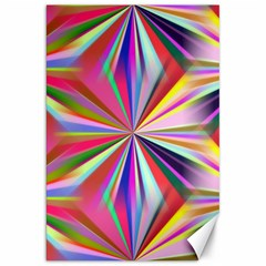 Star A Completely Seamless Tile Able Design Canvas 20  X 30   by Nexatart