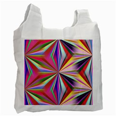 Star A Completely Seamless Tile Able Design Recycle Bag (one Side) by Nexatart