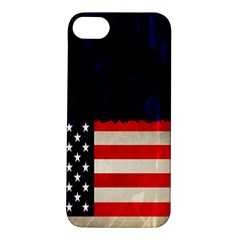 Grunge American Flag Background Apple Iphone 5s/ Se Hardshell Case by Nexatart