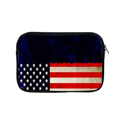 Grunge American Flag Background Apple Macbook Pro 15  Zipper Case