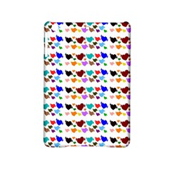 A Creative Colorful Background With Hearts Ipad Mini 2 Hardshell Cases