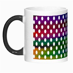Digital Polka Dots Patterned Background Morph Mugs by Nexatart