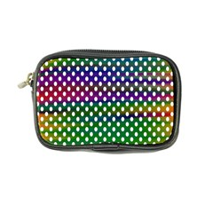 Digital Polka Dots Patterned Background Coin Purse