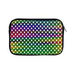 Digital Polka Dots Patterned Background Apple Ipad Mini Zipper Cases by Nexatart