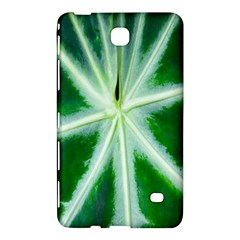 Green Leaf Macro Detail Samsung Galaxy Tab 4 (7 ) Hardshell Case  by Nexatart