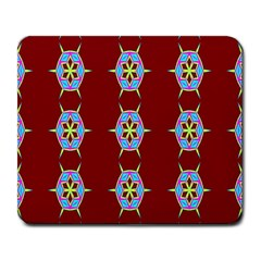 Geometric Seamless Pattern Digital Computer Graphic Large Mousepads by Nexatart