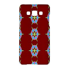 Geometric Seamless Pattern Digital Computer Graphic Samsung Galaxy A5 Hardshell Case  by Nexatart
