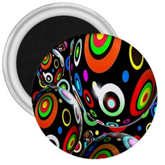 Background Balls Circles 3  Magnets by Nexatart