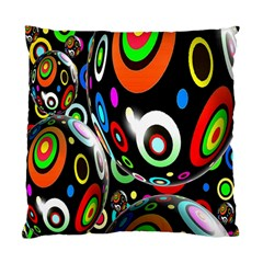 Background Balls Circles Standard Cushion Case (two Sides) by Nexatart