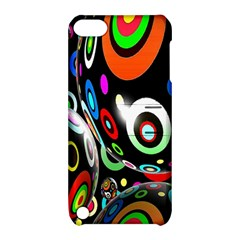 Background Balls Circles Apple Ipod Touch 5 Hardshell Case With Stand by Nexatart