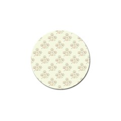 Seamless Floral Pattern Golf Ball Marker (4 Pack) by TastefulDesigns