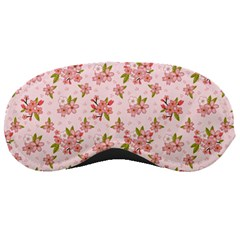 Beautiful Hand Drawn Flowers Pattern Sleeping Masks by TastefulDesigns