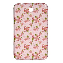 Beautiful Hand Drawn Flowers Pattern Samsung Galaxy Tab 3 (7 ) P3200 Hardshell Case  by TastefulDesigns