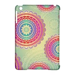 Abstract Geometric Wheels Pattern Apple Ipad Mini Hardshell Case (compatible With Smart Cover) by LovelyDesigns4U