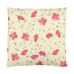 Seamless Flower Pattern Standard Cushion Case (two Sides) by TastefulDesigns