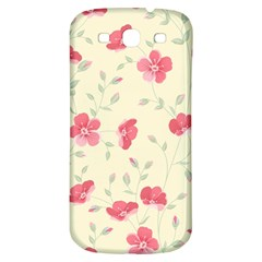 Seamless Flower Pattern Samsung Galaxy S3 S Iii Classic Hardshell Back Case by TastefulDesigns